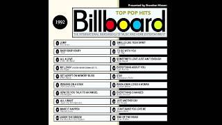 Billboard Top Pop Hits - 1992
