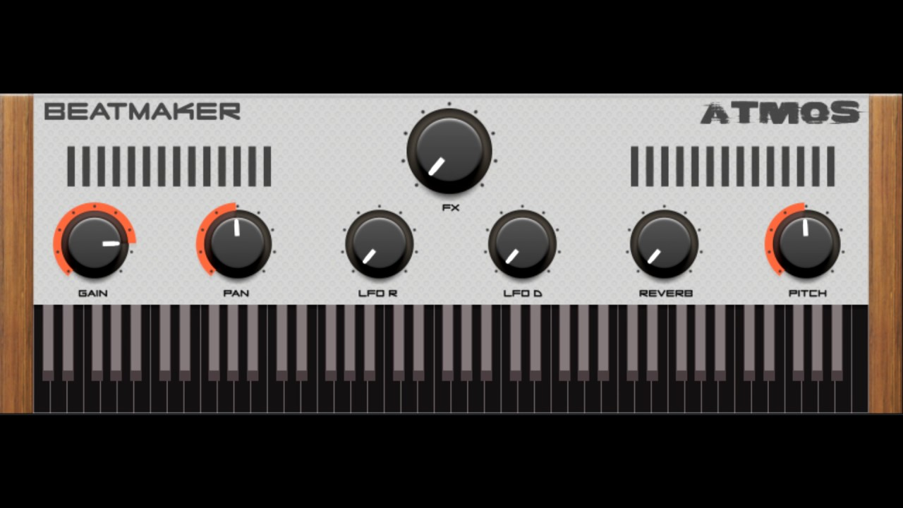 Atmos Free Ambient Piano VST/AU ROMpler Instrument by Beatmaker
