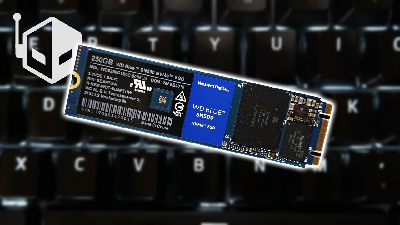 WD Blue SN500 NVMe 250GB Review | High Speed Storage For The Masses