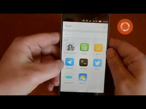 Android equivalents on an Ubuntu phone
