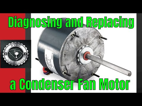 HVAC: Diagnosing and Replacing a Condenser Fan Motor - YouTube on