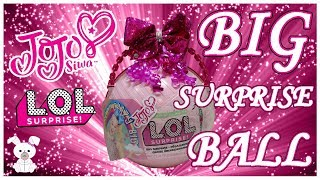 JoJo Siwa 🎀 LOL Surprise Custom Big Surprise Ball (SugarBunnyHops Custom Big Ball #1)