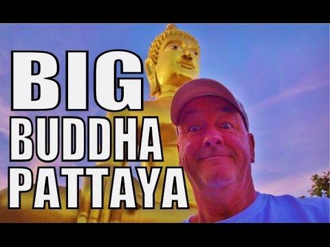 Big Buddha Hill or Wat Phra Yai Pratamnak Pattaya Thailand