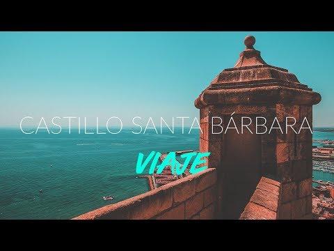 CASTILLO SANTA BÁRBARA - ALICANTE | VISITA EN 4K