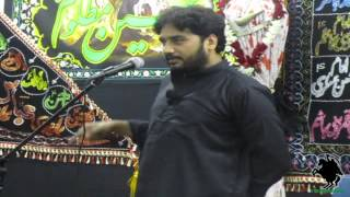 Zakir Waseem Abbas Baloch - 21 Ramzan Imam Ali (a.s.) Shahadat Majlis - APIZ Birmingham - 11/08/12