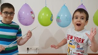 Buğra Kral Şakir Balonları Patlattı Berat Sürprizleri Topladı