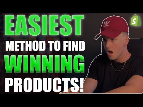 EASIEST Way To Find Winning Products in 2019- Shopify Dropshipping thumbnail