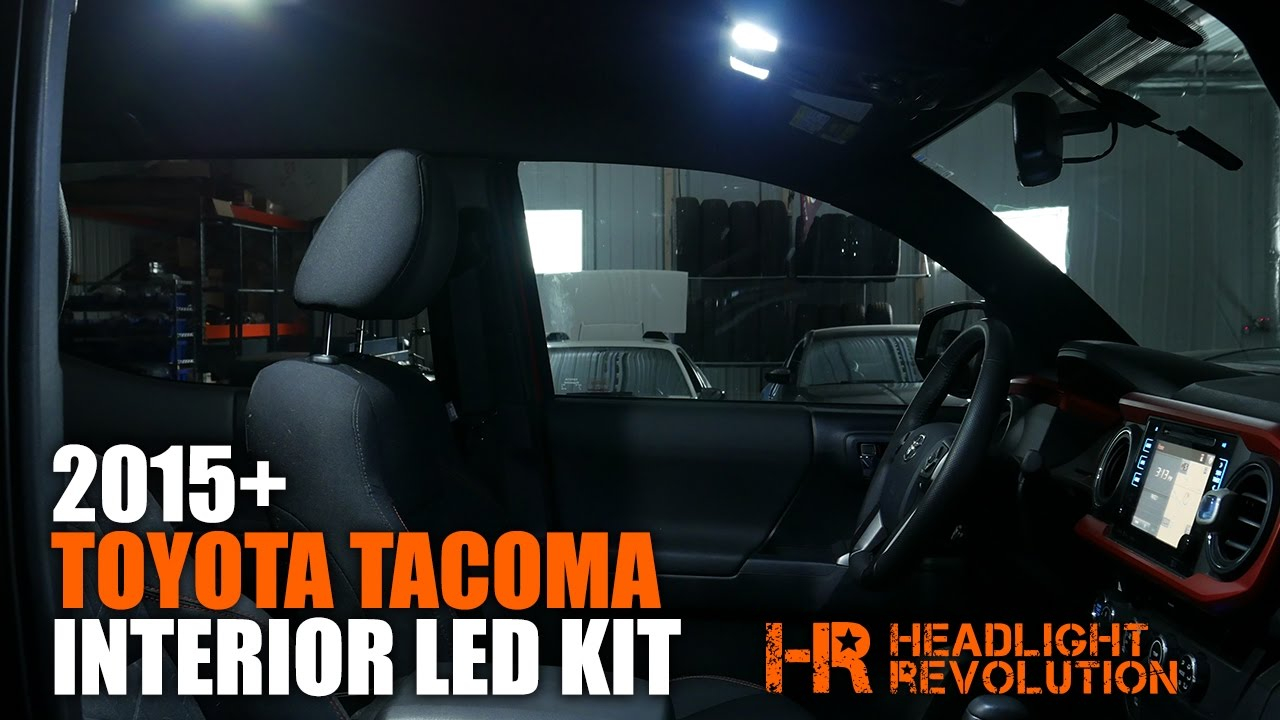 2015+ Toyota Tacoma Interior LED Lighting Kit | Headlight Revolution