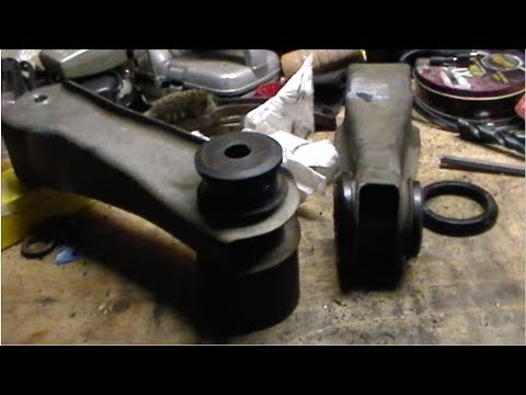Replace Rear Upper Amp Lower Control Arm Bushings Ford