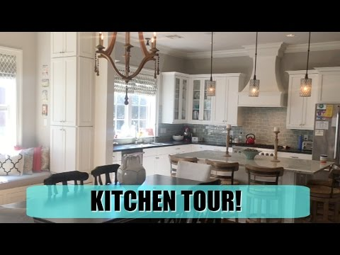HOME TOUR PT 1: Kitchen | Dining | Pantry