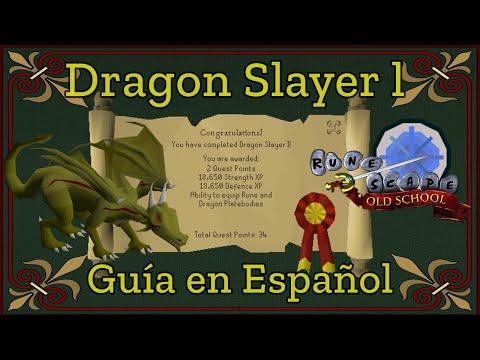 [OSRS] Dragon Slayer Quest (Español)