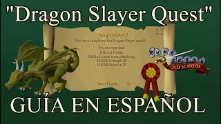 [OSRS] Dragon Slayer Quest (Español)