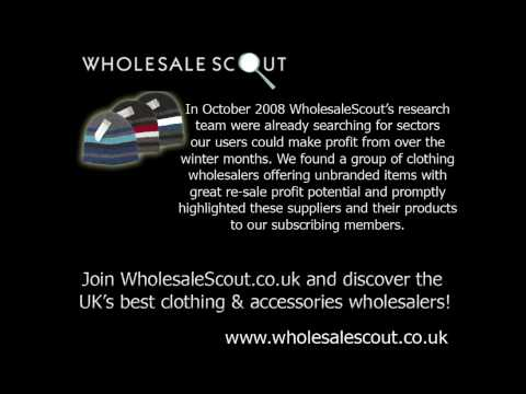 Find Unbranded Clothing Wholesalers With Wholesale Scout