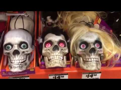 My Home Depot Halloween Aisle 2016 Youtube