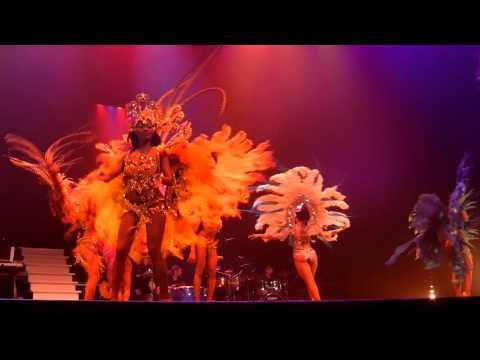 Show 'Caribbean cocktail' in theater De Flint in Amersfoort.