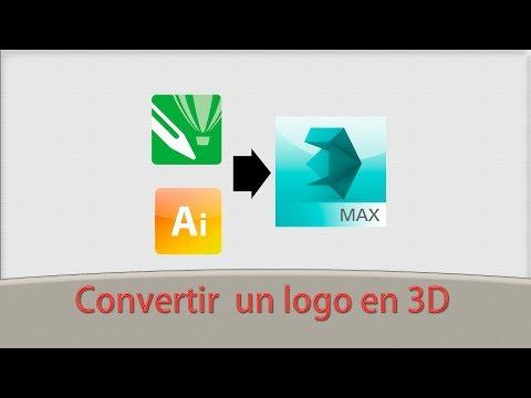 videotutorial-cÓmo-convertir-un-logo-2d-en-3d-con-3ds-max-♦2019♦-[rÁpido]-😅