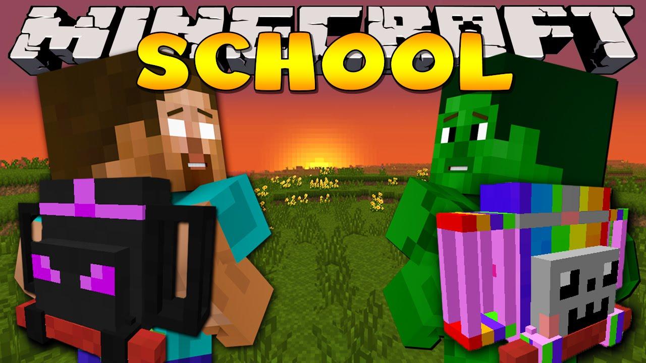 Minecraft School : ADVENTURERS BACKPACKS - YouTube