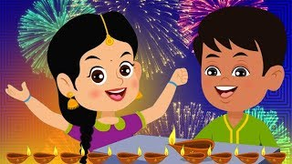 Shubh Deepawali Hindi Rhyme | Festival Song In Hindi | Happy Diwali Song | शुभ दीपावली | Hindi Rhyme