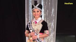 Sacramento Hmong New Year 2016 - 2017: Miss Hmong CA Pageant - Maiv Yaj Thoj #5 Question