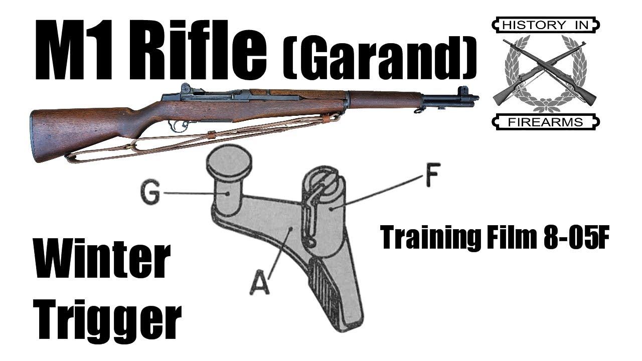 M1 Rifle (Garand) Winter Trigger (TF 8-05F)
