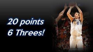 Dirk Nowitzki 20pts/6 Threes vs Heat Highlights   Dec 22, 2017