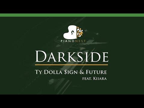 Ty Dolla $ign & Future - Darkside (feat. Kiiara) - LOWER Key (Piano Karaoke / Sing Along)