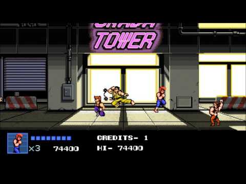 20170205 Double Dragon IV mission 7  8 gameover |