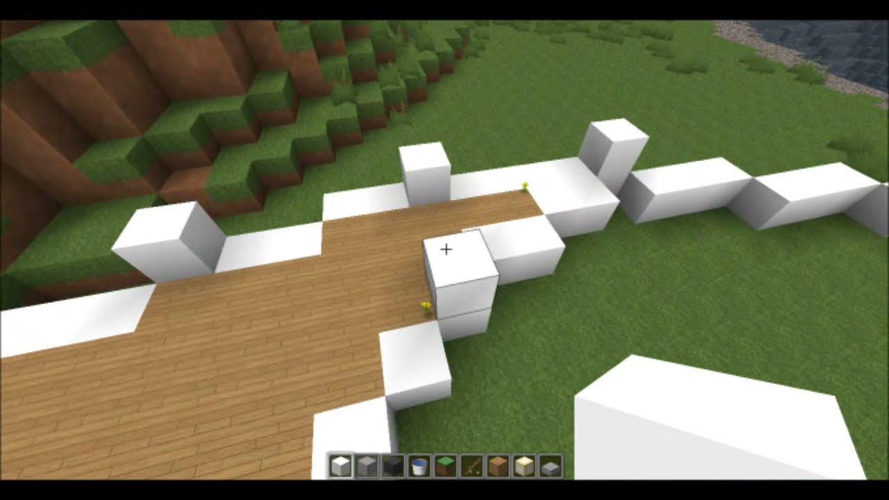 Minecraft Tutoriel Maison Moderne 1 3 Defroi Thewikihow