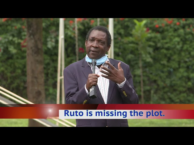 Ruto is missing the plot.