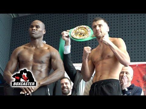 RAW! | Adonis Stevenson vs. Oleksandr Gvozdyk Weigh In | IT'S ON | STEVENSON VS. ORTIZ