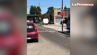Avignon : un panneau STOP que presque personne ne respecte