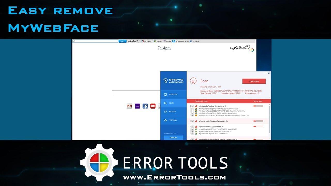 mywebface toolbar