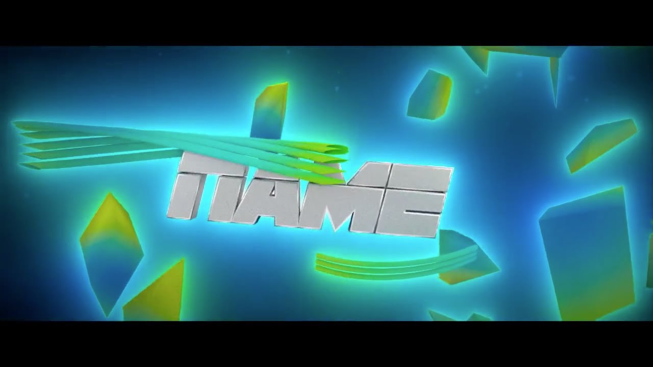 free youtube intro templates - free colourful blender intro template 158 blender