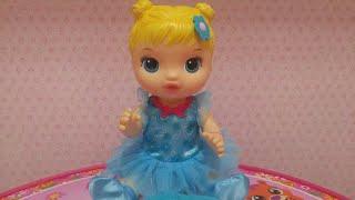 Chegada da Poliana Baby Alive linda Bailarina.