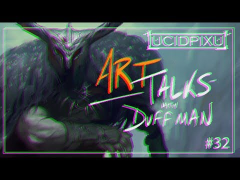 How To Find Your Art Style (and how it's sometimes lost!) - Art Talks with Duffman