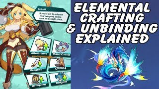 Dragalia Lost Explained: How To Craft Elemental And Unbinding Weapons Explained!
