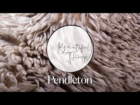 Inside Pendleton American Made Blankets I Beautiful Things I HB