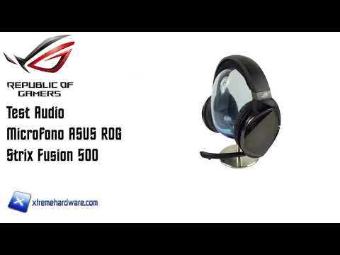 [Test Audio] Microfono ASUS ROG Strix Fusion 500