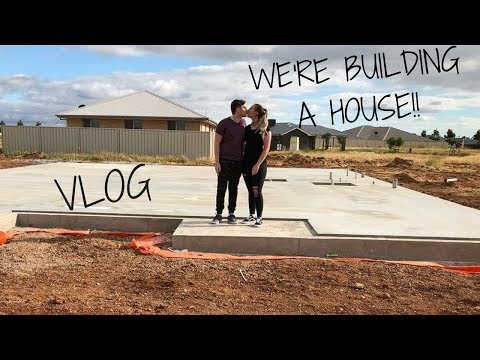 Download Youtube: MY FIRST VLOG!! | WE'RE BUILDING OUR FIRST HOUSE!