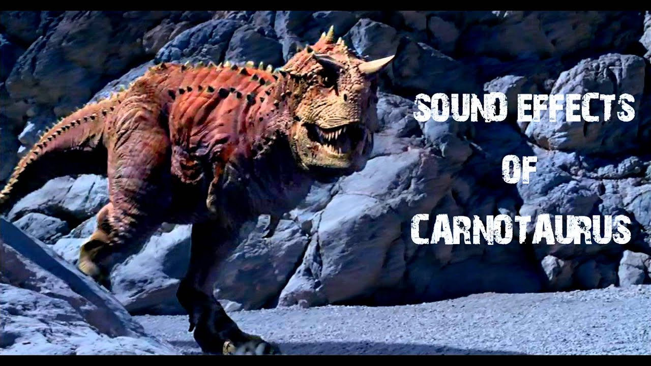 Dinosaur Sound Effects Large Creature Grunts Attacks And Pain Sounds