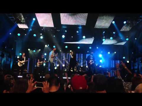 "Lady Antebellum- ""Downtown"" Jimmy Kimmel Live [HD]"