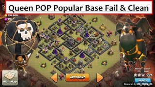NEW Queen POP LaLoon. TH9 POPULAR BASE. Fix Common Mistakes. BEST ATTACK. Clash of Clans