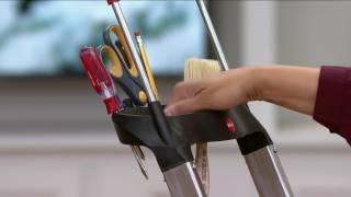 Polder Woodgrain Lightweight 3step Ladder Video Clip H 224 I