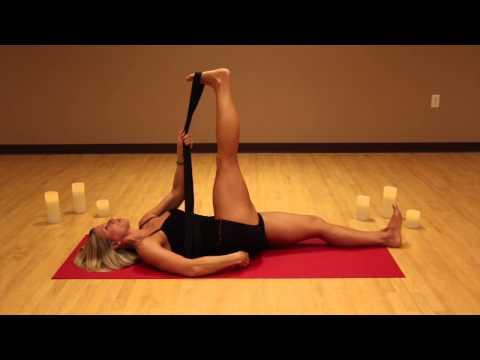 Leg Stretching W Strap