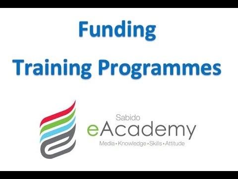 Funding Training Programs