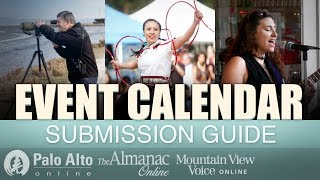Guide to online calendar submissions