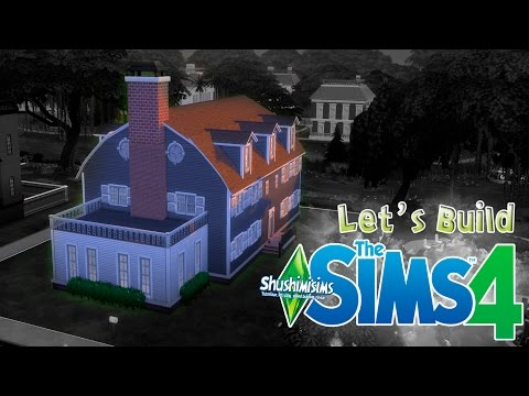 SIMS 4 - Let's build - Amityville
