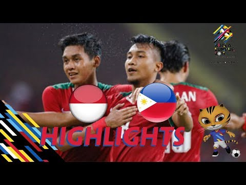HIGHLIGHT | U22 INDONESIA vs U22 PHILIPPINES | BẢNG B SEA GAMES 29