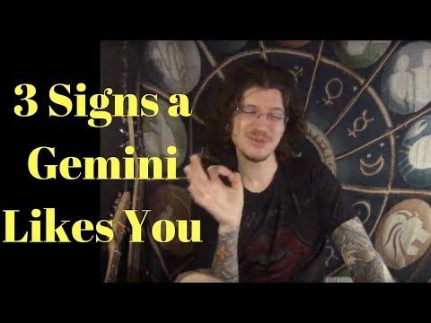 How do you know when a gemini man loves you