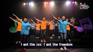 喜樂 & 自由 Joy & Freedom 敬拜MV - 兒童敬拜讚美專輯(6) 讚美的孩子最喜樂